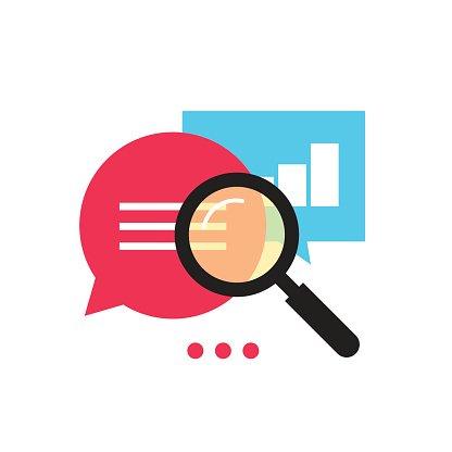416x416 Data Analytics Vector Icon Analyzing Information Process Premium