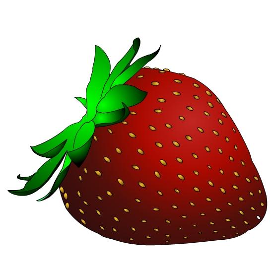 550x550 Free Strawberry Clipart