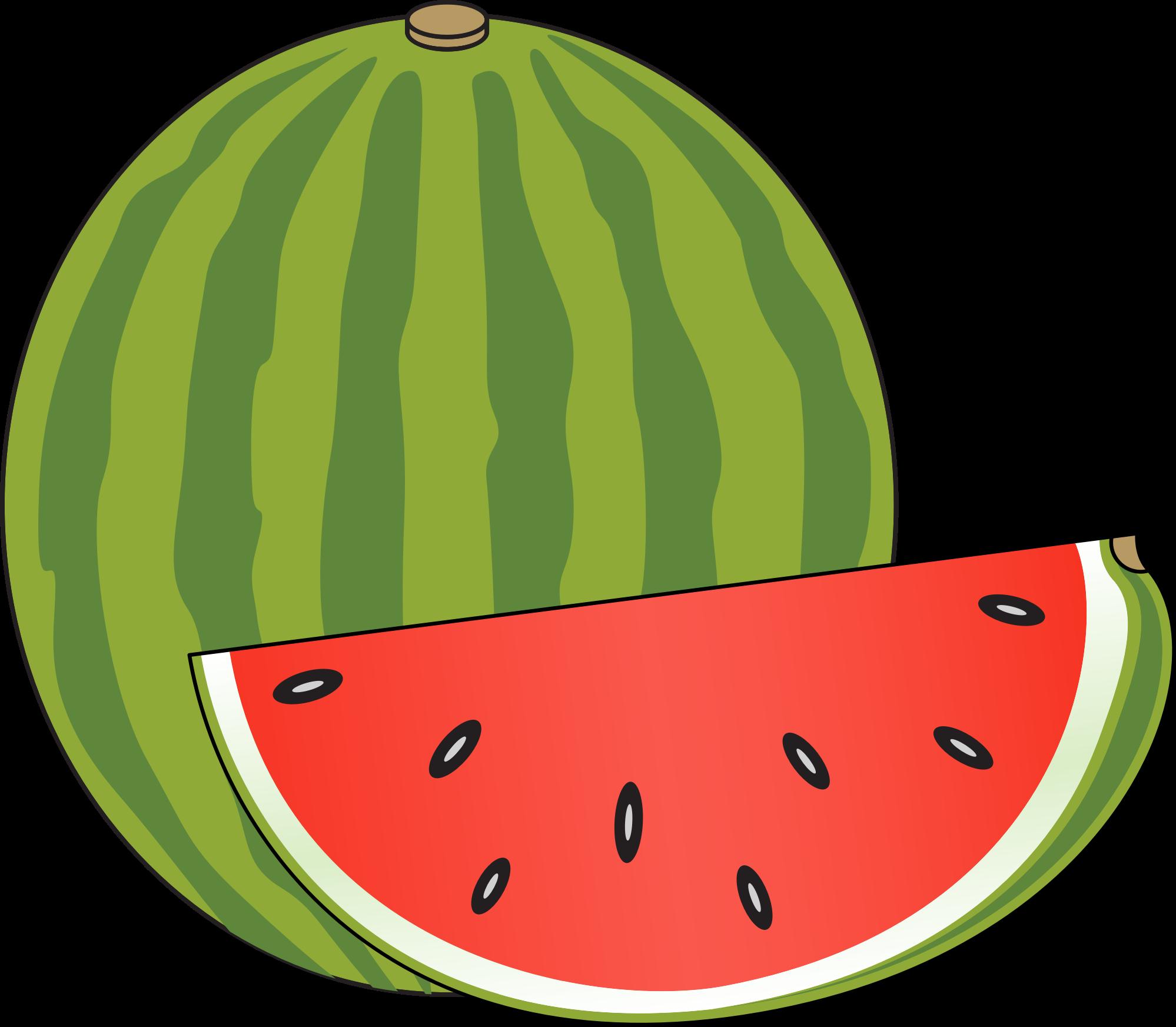 1998x1745 Watermelon Clipart Transparent Background