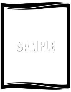 270x350 Professional Borders Design Clipart