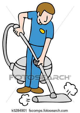 333x470 Clipart Of Professional Rug Cleaner K5284901
