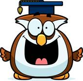170x167 Royalty Free Professor Owls Clip Art