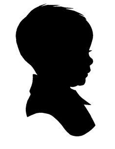 Profile Silhouette Clipart