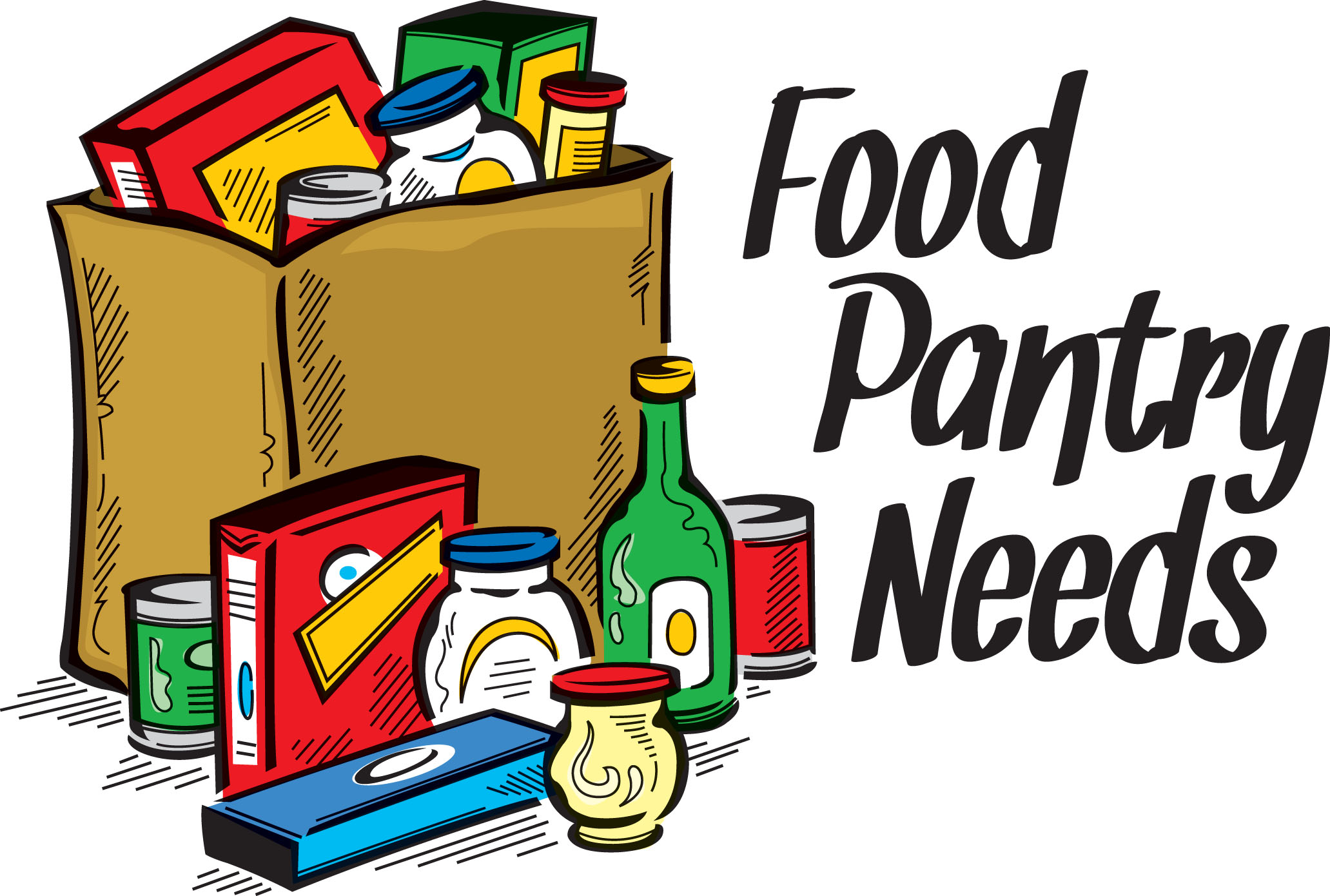 2063x1390 Clip Art Food Pantry Donations Clipart