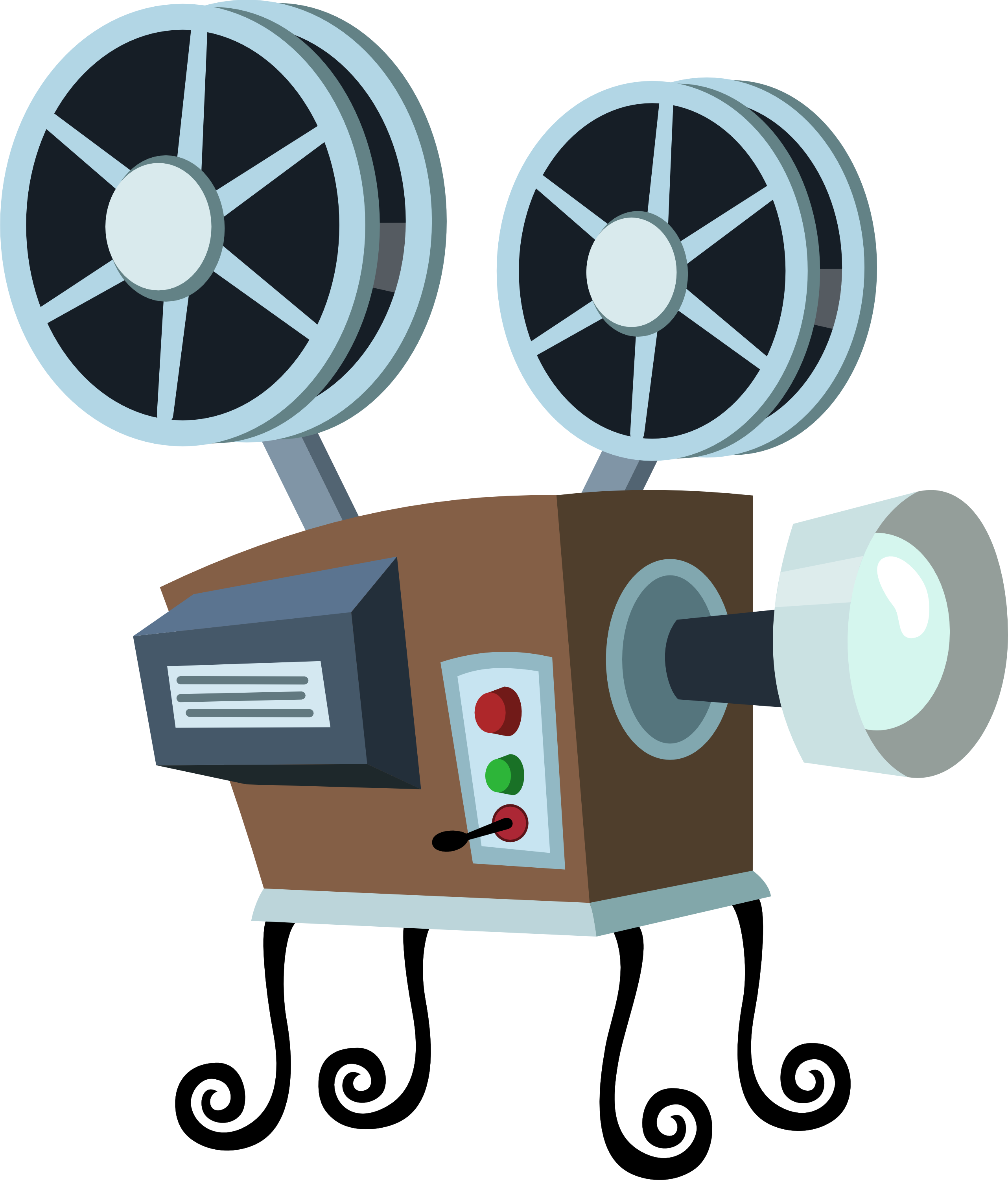 2563x3000 Movie Projector Cliparts