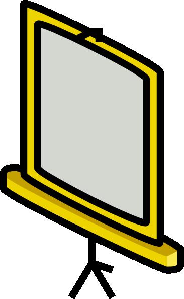366x594 Projector Screen Clip Art