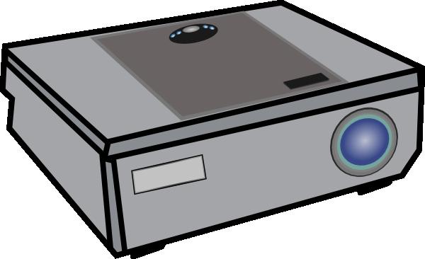 600x366 Projector Clip Art Free Vector 4vector