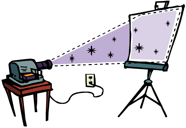 750x517 Screen Clipart Video Projector