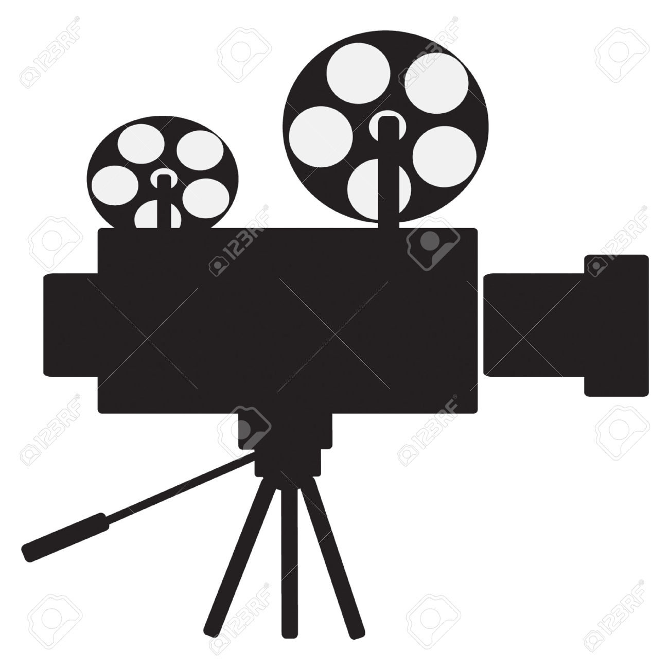 1300x1300 Film Projector Clipart