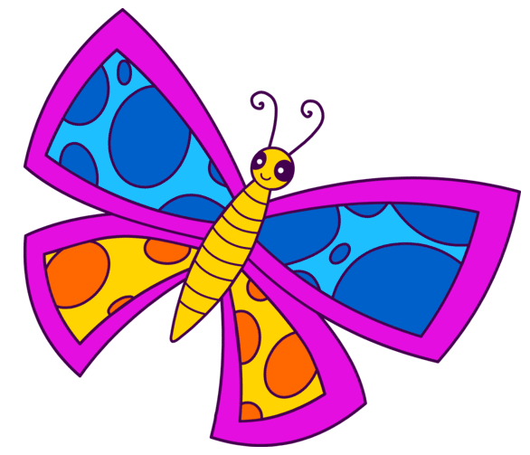 586x503 Free Butterfly Clip Art For All Your Projects