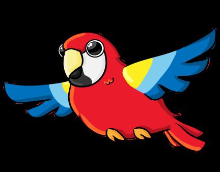 432x338 Parrot Clip Art