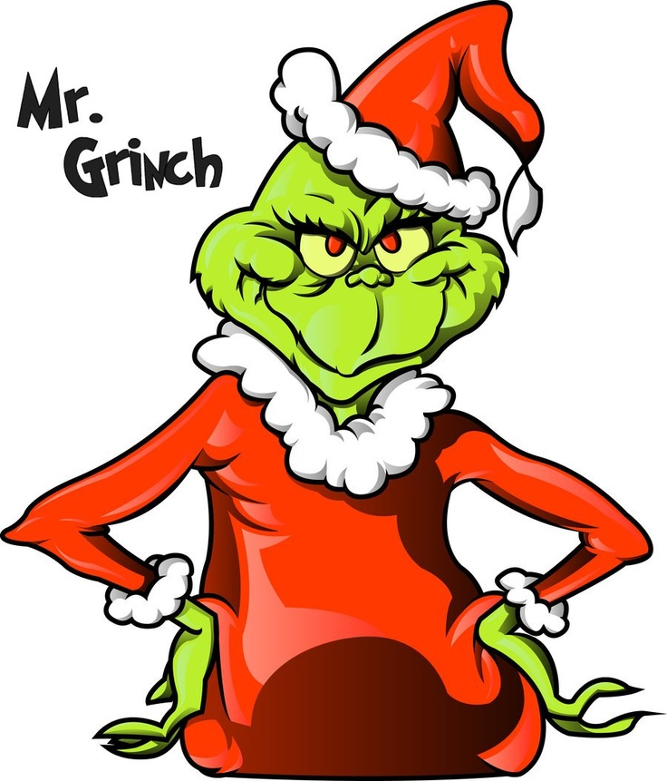 736x861 The Grinch Projects Images On Christmas Crafts Clip Art
