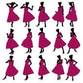 170x170 Clip Art Of Prom Girl Illustration Silhouette K3092492