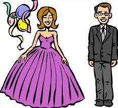 233x213 Clipart Prom Free