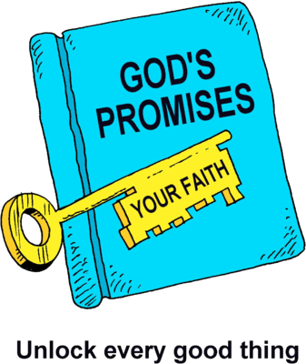 337x400 Image A Bible With The Word Gods Promises And A Key With The Word