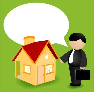 401x392 Real Estate Agent Clipart