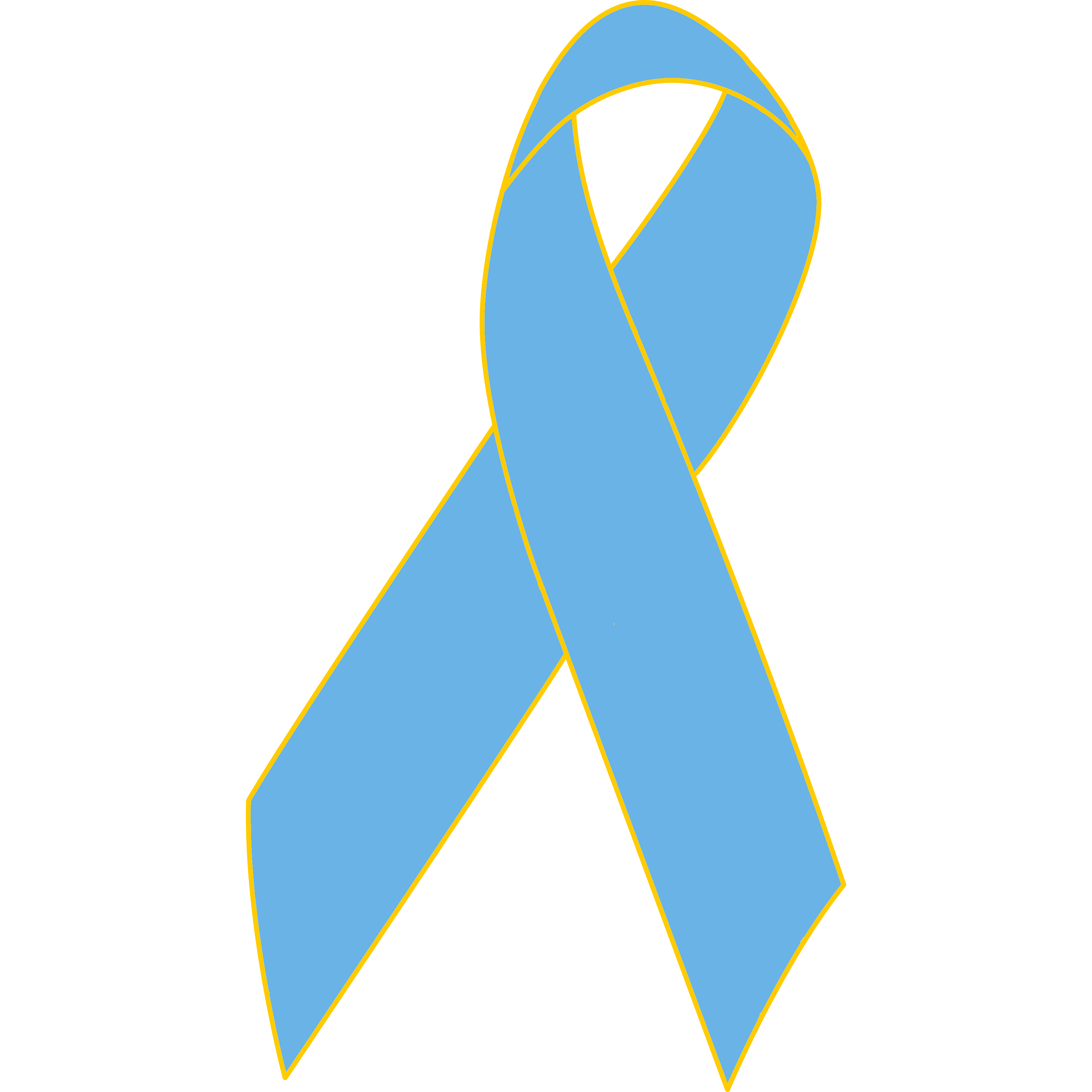 3323x3323 Prostate Cancer Awareness Ribbon Lapel Pin Awareness Ribbon Pins