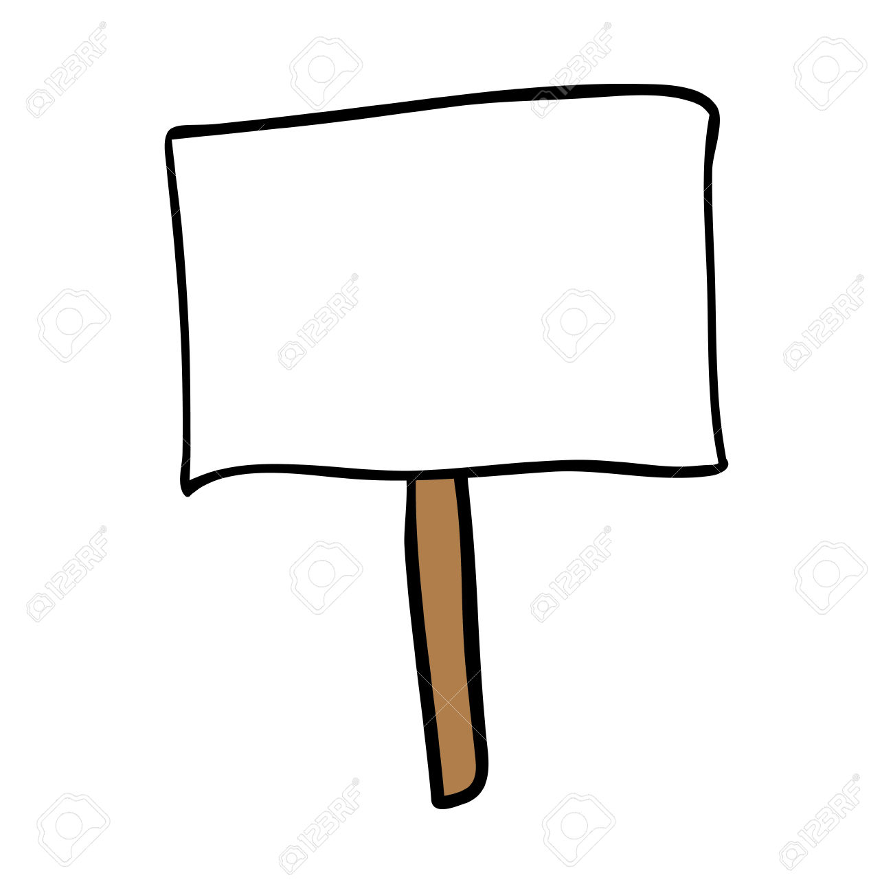 1300x1300 Sign Clipart Protest