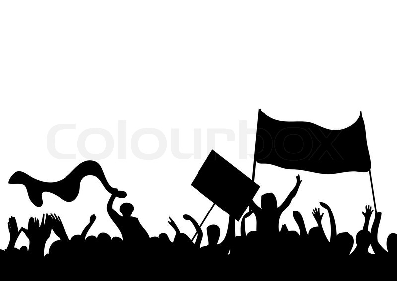 800x566 A Group Of People Protesting, Protest, Man Holding Flag, Man