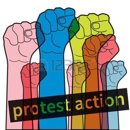 Protester Clipart
