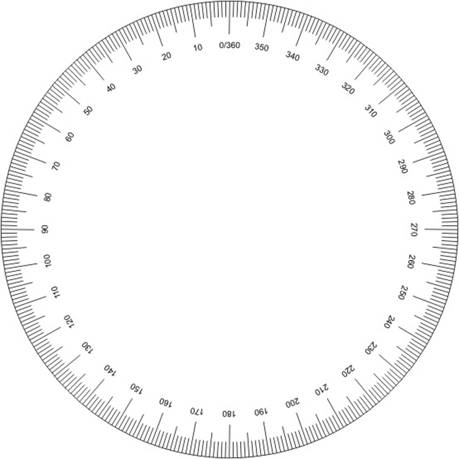 photograph relating to Printable Protractor Pdf called Choice of Protractor clipart Absolutely free obtain ideal