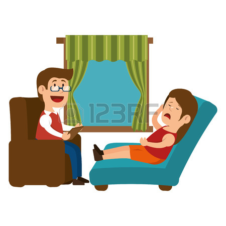 450x450 Broken Businessman Talking To Psychologist. Psychotherapy