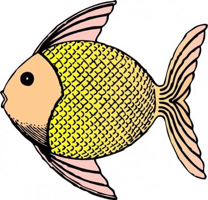 425x408 Puffer Fish Clip Art