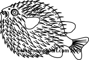 350x235 Puffer Fish Clip Art Clipart Panda