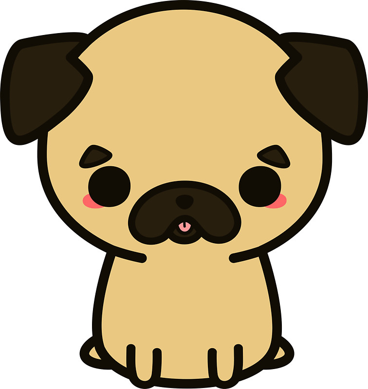 Pug Clipart | Free download on ClipArtMag
