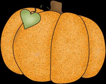 350x277 Primitive Pumpkin Clipart