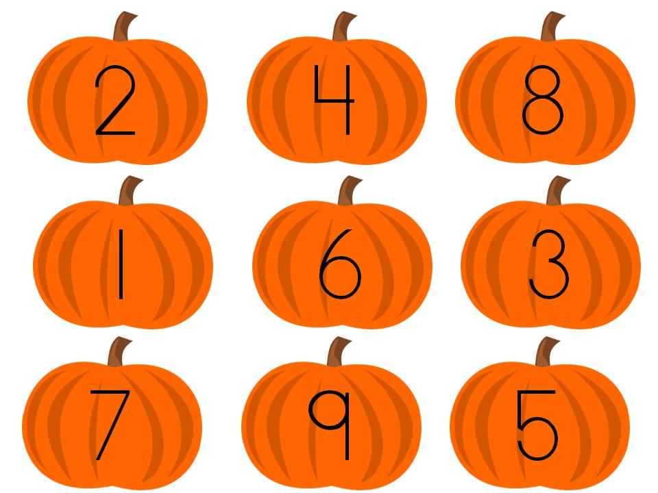 960x720 Pumpkin Clipart Number