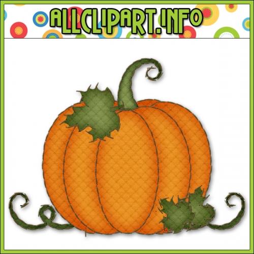 500x500 Pumpkin Clipart Solid