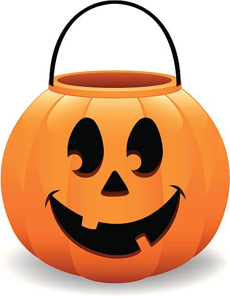 474x612 Pumpkin Pail Clipart