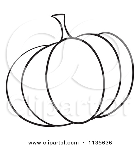 450x470 Small Pumpkin Black And White Clipart