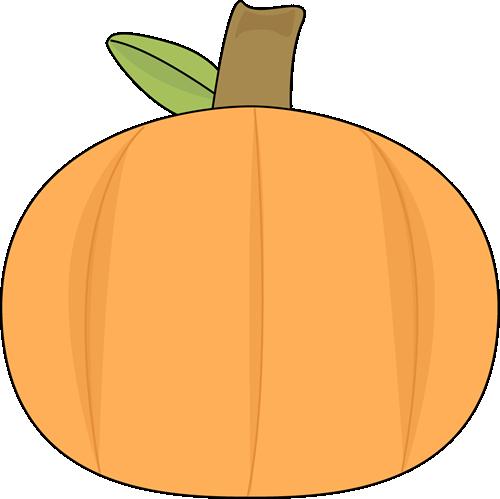 500x499 Plain Pumpkin Clip Art