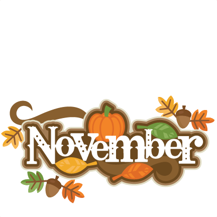 432x432 November Clipart