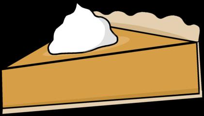 421x239 Pumpkin Pie Slice Clip Art