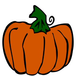 250x250 Tall Pumpkin Clip Art Free Borders And Clip Art