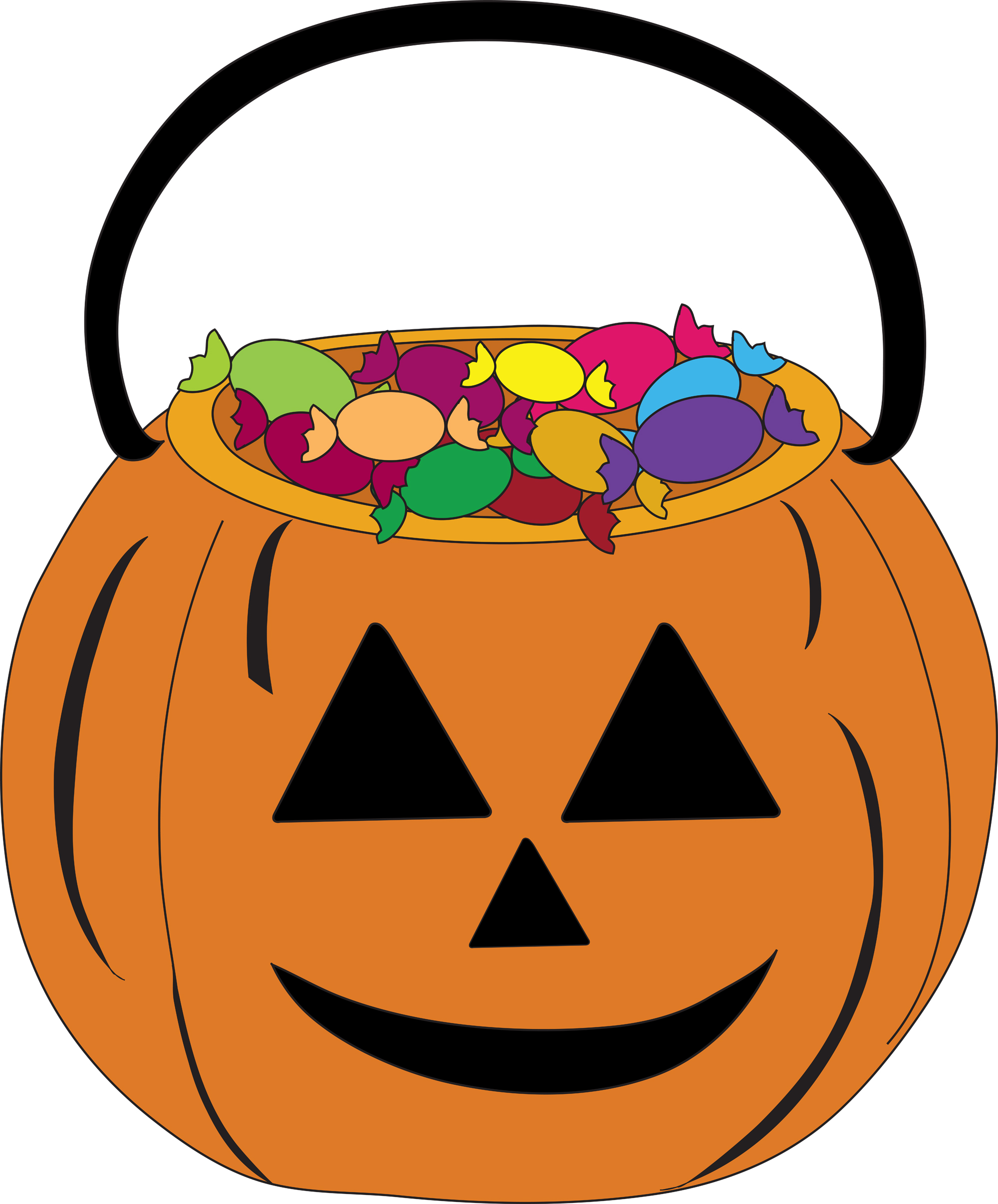 2000x2413 Halloween Candy Border Clip Art Fun For Christmas