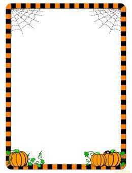 260x339 Pumpkin Border Clipart Free