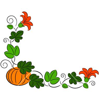 380x400 Pumpkin Border Halloween Border Pumpkin Clip Art 2