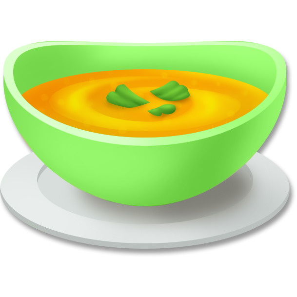 609x609 Bowl Clipart Pumpkin Soup