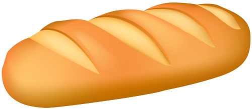 500x218 Bread Clipart Oval