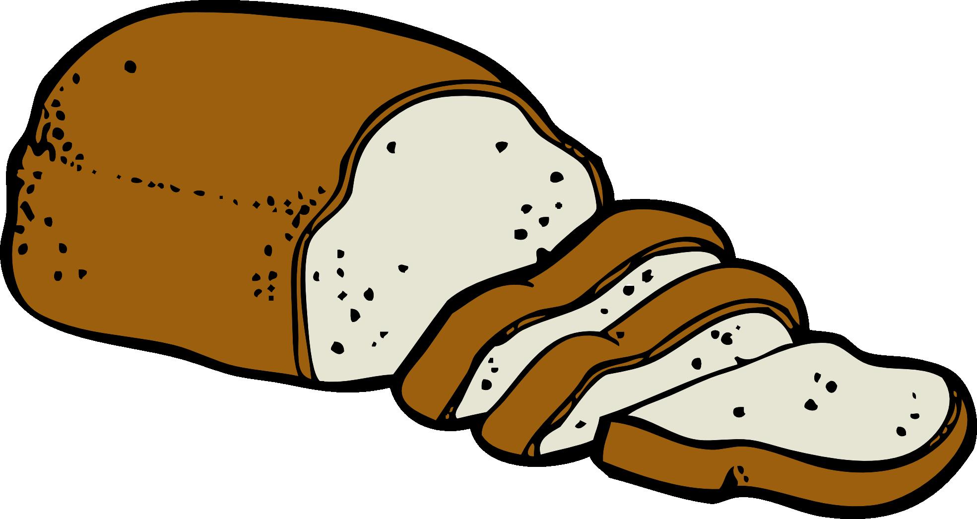 1969x1046 Bread Clipart