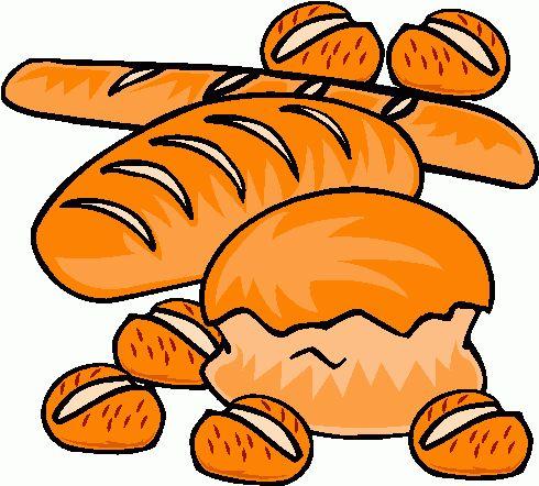 490x442 Pumpkin Bread Clip Art
