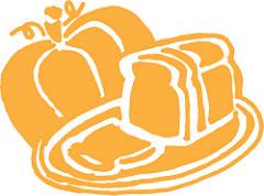 240x178 Bread Clipart