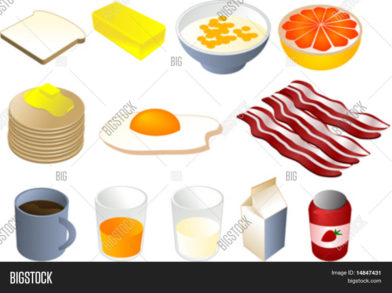 1500x1124 Bread Clipart Coffe