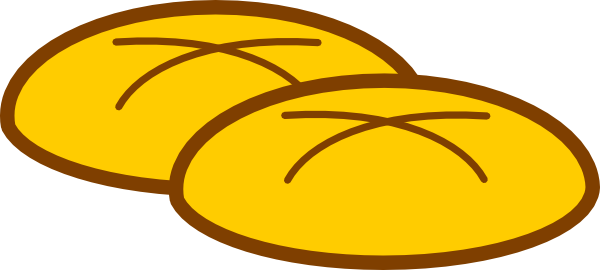 600x270 Bread Clipart Eucharist