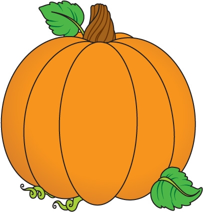 406x423 Easy Clipart Pumpkin