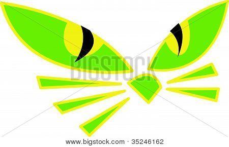 450x290 Halloween Cat Face Clipart